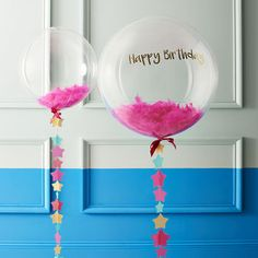 Limited Edition Birthday Bubble Balloon