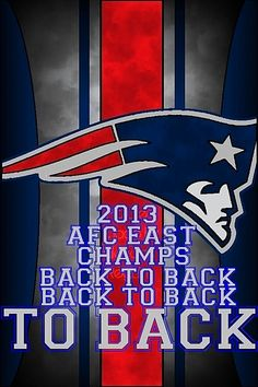 2013 AFC Champs New England Patriots