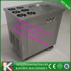 746.00$  Watch now - 220v only 1 Pan fryer Ice Cream machine Snack Fried Ice Cream fryer Machine Flat Single pan frying ice Machine  #buychinaproducts