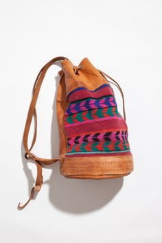 Leather Duffle Backpack | Sam Hill