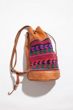 Leather Duffle Backpack   Sam Hill