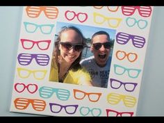 DIY Sunglasses Picture Canvas | Sizzix Teen Craft