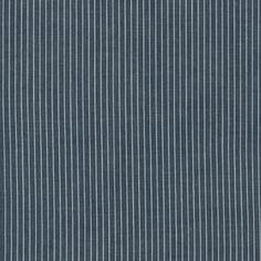 Robert Kaufman House Designer - Railroad Denim - Fine Denim Stripe in Indigo
