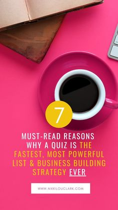 Find out the 7 must-have reasons so that you can grow your list and business!
