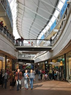 """Manufaktura in Łódź – """"an old factory converted into a modern shopping mall. Apart from shops there is a cinema, hotel, museum and art gallery."""""""