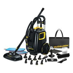 McCulloch Canister Steam Cleaner Don't know what to pickkkkkk!!!!