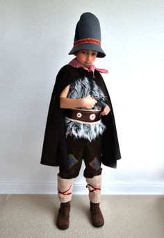 Kostüme für Kinder - Räuber 4-9 Jahre, Seppel, Hotzenplotz, Geißenpeter - ein Designerstück von maii-berlin bei DaWanda