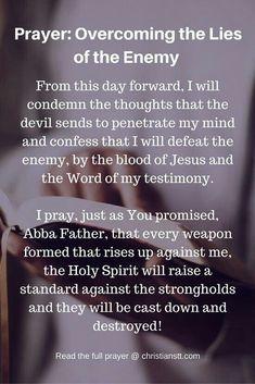 good reminder Prayer Times, Prayer Scriptures, Bible Prayers, Faith Prayer, Prayer Quotes, Bible Quotes, Bible Verses, God Prayer, Deliverance Prayers