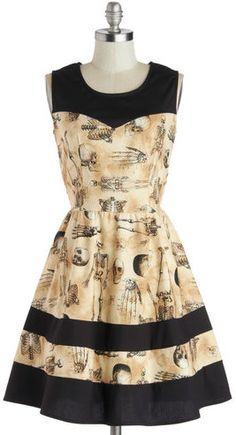 FOLTER INC The Body Eclectic Skull & Bones Dress