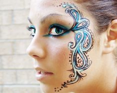 Lovely face paint