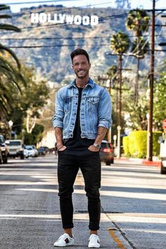 ffd480c82 Daniel Fox wearing Levi s The Trucker Jacket