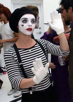 Mime #halloween