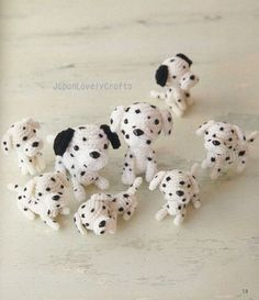 AMI AMI DOGS 2 BY MITSUKI HOSHI -  JAPANESE AMIGURUMI CROCHET PATTERN BOOK FOR DOGS - LOVELY & KAWAII AMIGURUMIS, CROCHETING ANIMAL 10 by JapanLovelyCrafts, via Flickr