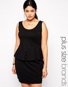 New Look Inspire | New Look Inspire Peplum Dress at ASOS