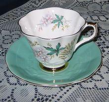 Queen Anne - Ferns & Flowers - Teacup Set