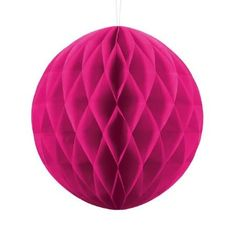 Dark Pink Honeycomb Ball - Perfect decoration for any party, wedding or for Christmas. Mix with other decorations and balloons to create a stunning display. Princess Birthday, Princess Party, Balloon Garland, Balloons, Decoracion Hello Kitty, London With Kids, Crown Party, Pamper Party, Gold Party