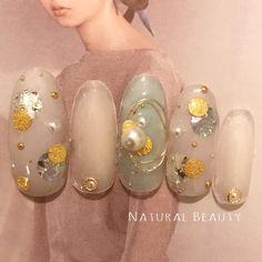 Natural Beauty(ナチュラルビューティー)さんはInstagramを利用しています:「#ネイル#nail#ネイルアート#ジェル #ネイルデザイン#大人女子 #大人女子ネイル#大人かわいいネイル #カルジェル#ベトロ#パラジェル #春ネイル#春#春ネイル2018 #大人ネイル#ジェルネイル#福岡ネイルサロン#ネイルサロン福岡 #Bio#ABGEL#大人ネイルサロン…」