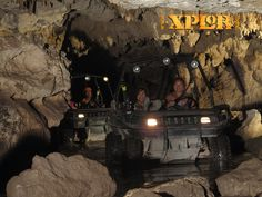 Super fun time at Xplor, Cancun Mexico...rafts, jeeps, zip lines...