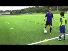Ballführung:Kontrolle - kappen, Übersteiger, zurück ziehen usw. des Balles - YouTube