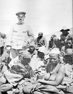 Genocide in German South-West Africa: The Colonial War of 1904-1908 and Its Aftermath. Herero/Nama,Shark Island Death Camp. With Lieutenant von Durling.
