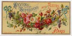 vintage soap label