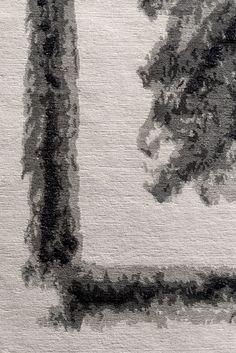 Detail of Dutch Landscapes rug by Joost van Bleiswijk for ICE International