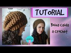 Cómo tejer una Boina Caída (Slouchy Beanie) a Crochet - ENGLISH SUBS ¡TUTORIAL ANIVERSARIO! - YouTube
