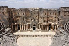 The Roman Theatre at Bosra - Syria