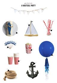 A Nautical 2nd Birthday Party from Fleur de Lis - Style Me Pretty Living