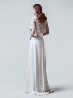 Bridal - Isabel Zapardiez Bridal Gowns, Wedding Dresses, Tulle, Dresses With Sleeves, Long Sleeve, Skirts, Collections, Fashion, High Fashion