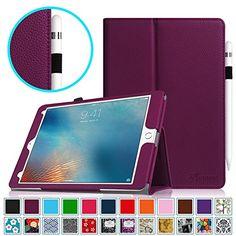 Fintie iPad Pro 9.7 Case, Premium Vegan Leather Folio [Slim Fit] Standing Protective Smart Cover with Auto Sleep / Wake Feature for Apple iPad Pro 9.7 Inch 2016 Release Tablet, Purple Fintie http://www.amazon.com/dp/B01D9ZTIOG/ref=cm_sw_r_pi_dp_Qqcfxb02FFPCC