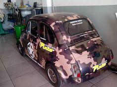 Fiat 500, Camouflage, Volkswagen, Automobile, Military, Vehicles, Mini, Car, Camo