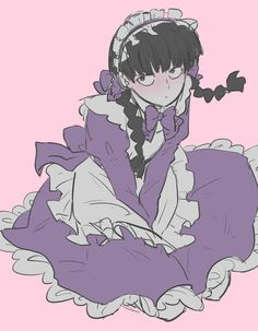 Maid Outfit Anime, Anime Maid, Character Art, Character Design, Mob Physco 100, Mob Psycho 100 Anime, Fanarts Anime, Animes Wallpapers, Cute Art