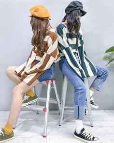 Gorgeous Clothes for work korean fashion 667 Cute Fashion, New Fashion, Fashion Models, Fashion Outfits, Womens Fashion, Fashion Tips, Fashion Design, Streetwear Mode, Streetwear Fashion