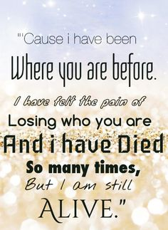 I believe by Christina Perri