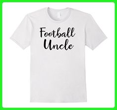 Mens Football Uncle Shirts: Football Uncle Funny T-Shirt Gift Men 3XL White - Sports shirts (*Amazon Partner-Link)