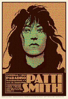 Patti Smith par Chuck Sperry