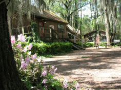 Guest house at Caddo Lake