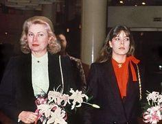 "gracie-bird: ""Grace and Caroline, 1981. """