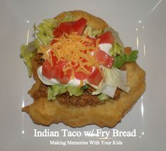 Bannock: Skillet Fried Native American Bread - Navajo Taco - Indian Fry Bread