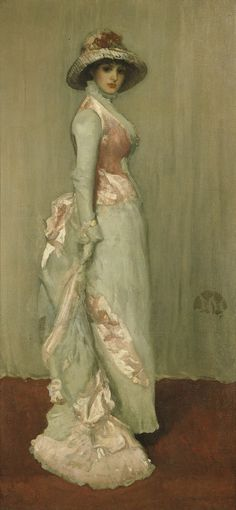 Harmony in Pink and Grey  James Abbott McNeill Whistler (1834–1903)    1881  oil on canvas   Frick Collection