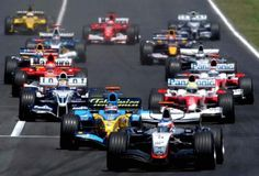 Follow Formula 1 around the world for a year