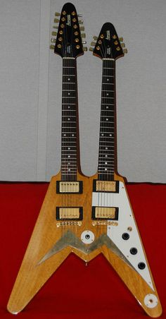 Flying W Guitar : double neck guitars because sometimes one neck just is 39 nt enough on pinterest guitar dave ~ Hamham.info Haus und Dekorationen
