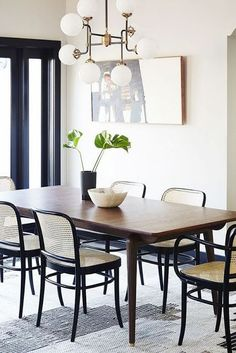 ~vintage modern dining rooms~