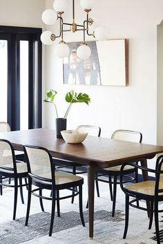 ~vintage modern dining rooms~
