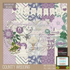 Mandy's Lovable Designs: Pixelscrapper Blog Train - Country Wedding