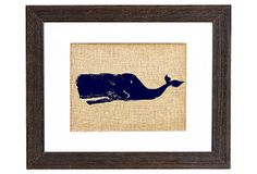 @Anjale Perrault. They have a few cute nautical prints for boys bathroom. Sperm Whale Navy Print on OneKingsLane.com