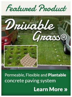Drivable Grass permeable pavers - click here for a FREE Quote from Super-Sod.