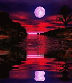 landscape animated graphics water reflections landscapes animated ...