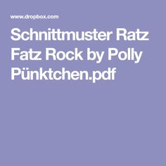 Schnittmuster Ratz Fatz Rock by Polly Pünktchen.pdf